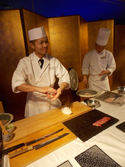 A sushi maestro I met at TEDxKyoto - his talk was about tradition and innovation